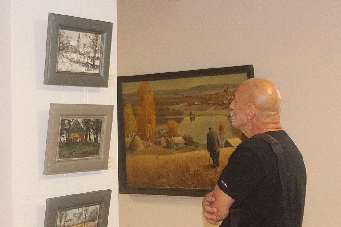 Пленэр памяці Віктара Сташчанюка ў карціннай галерэі Кастуся Качана ў Навагрудку