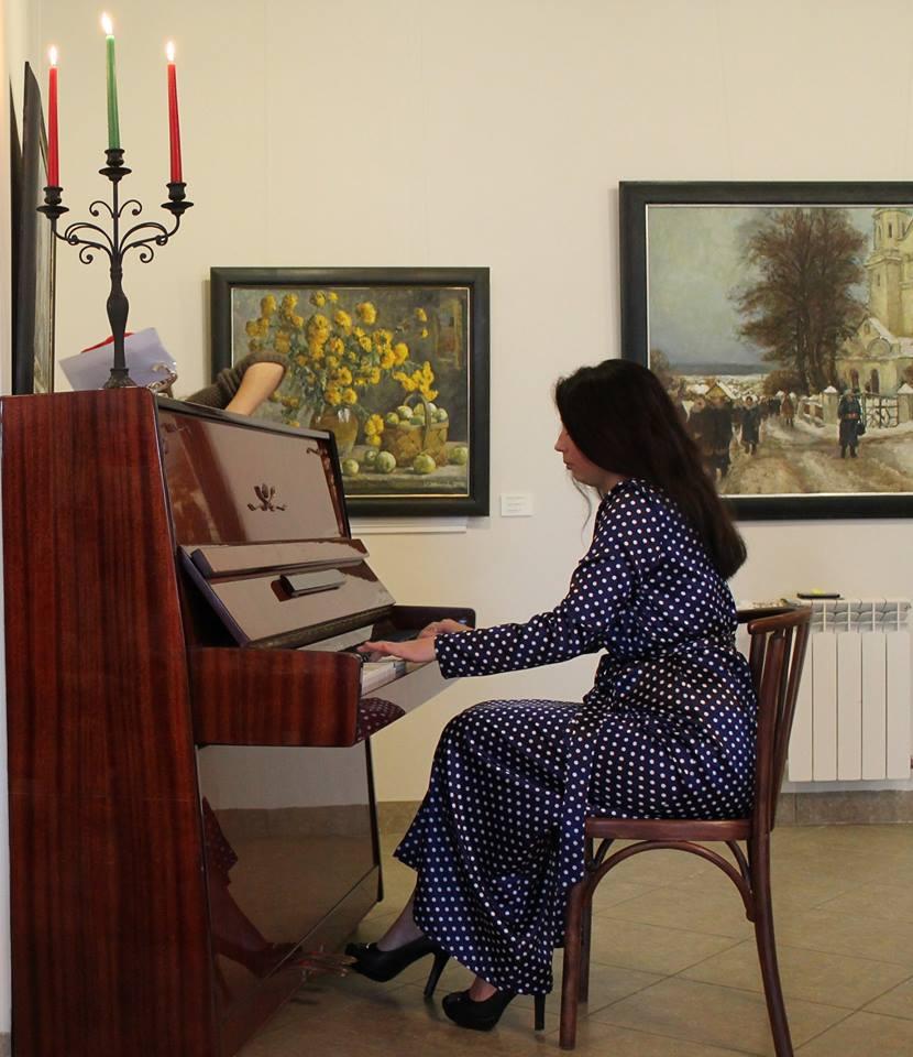 Дабрачынны калядны ранішнік у галерэі Кастуся Качана