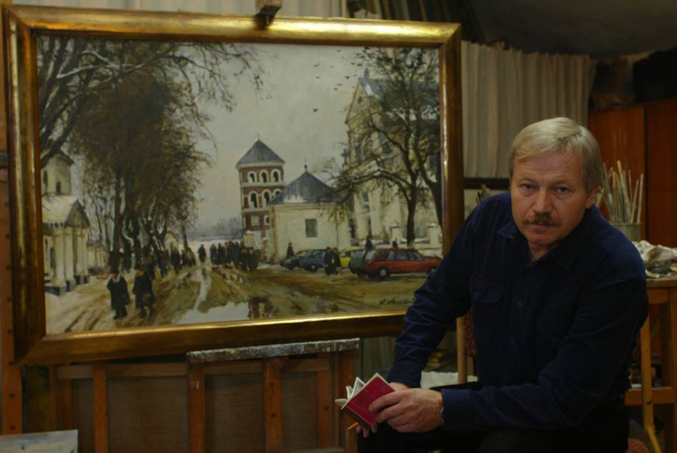 Беларускі мастак Кастусь Качан